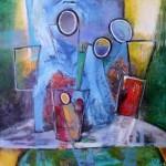 peinture allégorique symbolique artiste peintre