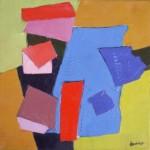 peinture symbolique abstraite artiste peintre