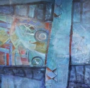 peinture lac bourget libertés aquatiques