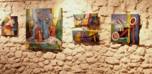 artiste peintrepeinture huile exposition fort barraux