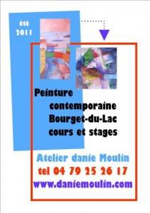peinture contemporaine cours stage savoie peintre